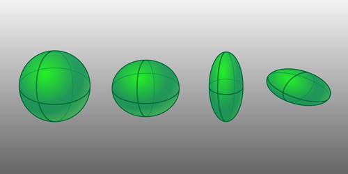 Synopsis: Nuclear Spectroscopy Reveals New Shapes of Excited Nuclei