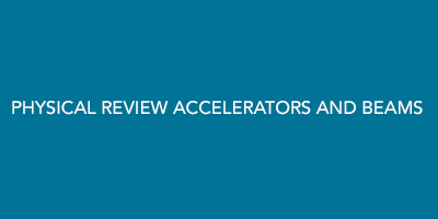 Physical Review Accelerators And Beams