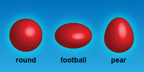 Barium-144 nucleus is pear shaped