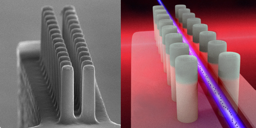 Synopsis: A Lens for Millimeter-Sized Electron Accelerators