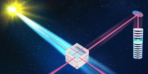 Synopsis: Quantum Interference Across at Astronomical Distance