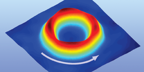 Synopsis: Superfluid Doughnut Spins at Supersonic Speeds