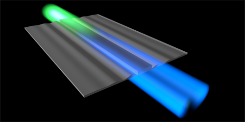 Synopsis: Laser Light Cools Propagating Sound Waves