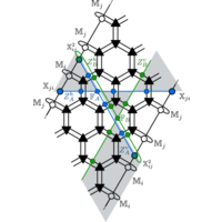 Determining non-Abelian topological order from infinite projected entangled pair states