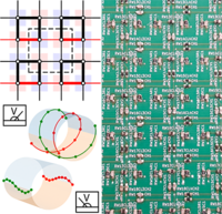 Observation of quadrupole transitions and edge mode topology in an LC circuit network