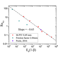 Instability driven by shear thinning and elasticity in the flow of concentrated polymer solutions through microtubes