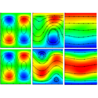 Numerical analysis of electroconvection in cross-flow with unipolar charge injection