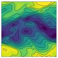 Drag enhancement in a dusty Kolmogorov flow