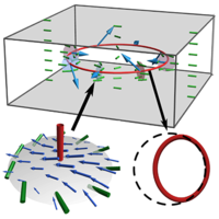 Three-Dimensional Active Defect Loops
