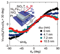Intrinsic spin decay length in an antiferromagnetic insulator