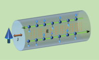 Kondo impurity at the edge of a superconducting wire