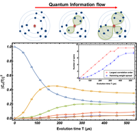 Sensitivity of quantum information to environment perturbations measured with a nonlocal out-of-time-order correlation function